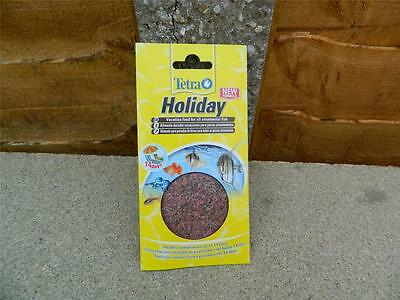 Tetra Tetramin Holiday Vacation food for all ornamental fish. Up to 14 days.