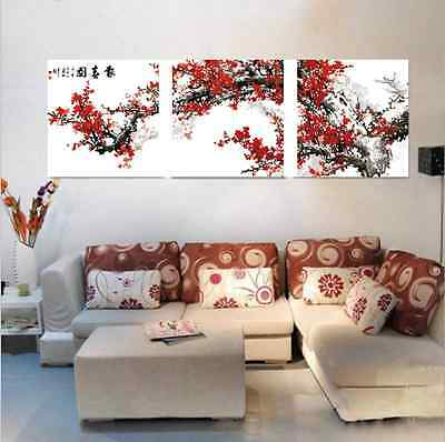 DIY Acrylic Paint By Number 16X20'' kit Oil Painting On Canvas tree SPA286