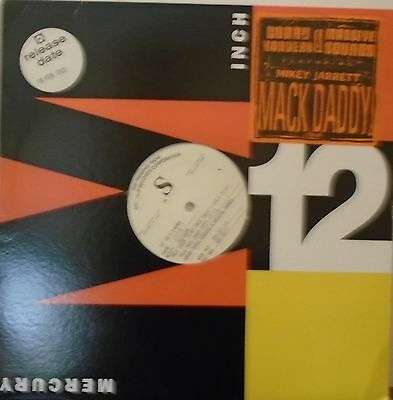 "BOBBY KONDERS & MASSIVE SOUNDS ~ Mack Daddy ~ 12"" Single TEST PRESS - USA PRESS"