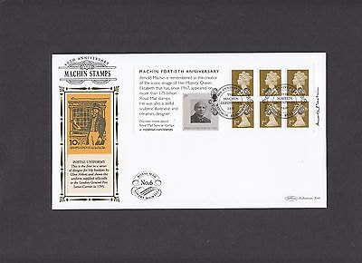 2007 Machin Fortieth Anniversary booklet Benham BLCS First Day Cover