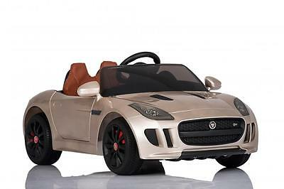 Jaguar F Type Kids Electric Battery Ride on Car with Remote Control - 5 Colours