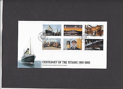 Alderney 2012 Centenary of the Titanic Post Office unaddressed First Day Cover