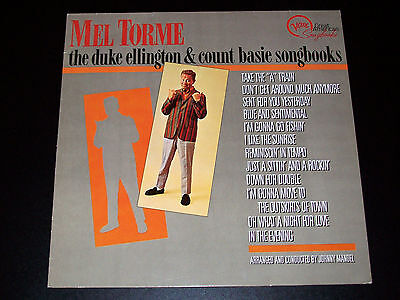 Mel Torme - The Duke Ellington & Count Basie Songbooks - Verve - LP [EX]