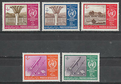 U/l487 - Afghanistan: 1963 - Fine Stamps- World Meteorological Day - Space -Mh *