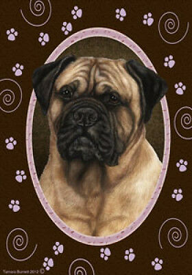 Large Indoor/Outdoor Paws Flag - Bullmastiff 17050