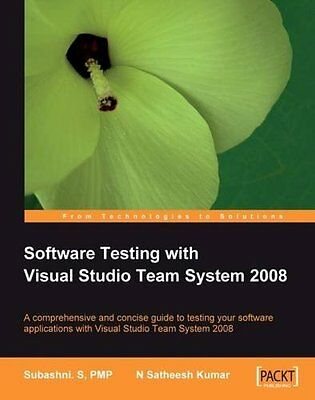 Software Testing With Visual Studio Team System 2008 Packt Publishing Anglais