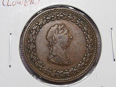 Better Grade LOWER CANADA 1812 Token Half Penny. LC-46A1, BR-960. Thom. Halliday
