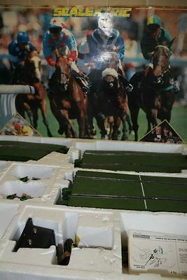 Scalextirc Newmarket Slot Horse Racing Game Boxed Hornby - Rare Set