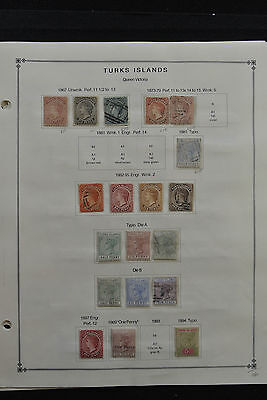 Lot 25324 Collection stamps of Turks and Caicos Islands 1867-1940.