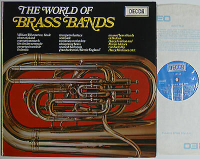 """The World Of Brass Bands (6788) 12"""" LP 1969 Decca SPA 20"""