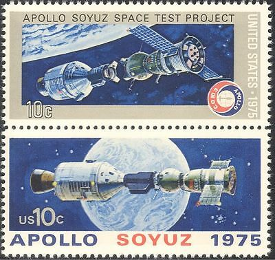 USA 1975 Space/Apollo/Soyuz/Rockets/Science/Transport/Research 2v set (n43692)