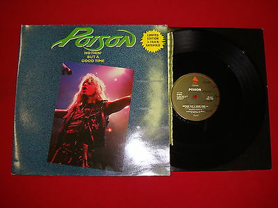 Poison - Nothin' But A Good Time (13582) Enigma Records (1989) 12 CLG 539 - EP