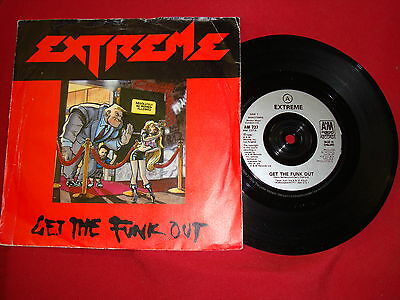"""Extreme - Get The Funk Out (13111) A&M Records (1990) AM 737 - 7"""" Single"""