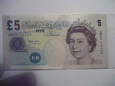 Bank of England £5.00 Note [ merlyn louther, 1999/2003.