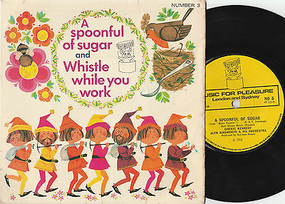 "A Spoonful Of Sugar And Whistle While You Work (14407) Vinyl 7"" Single 45rpm NO3"