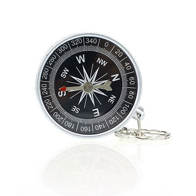 Keychain Outdoor Camping Plastic Compass Hiking Hiker Navigation Christmas