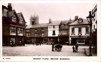 Melton Mowbray. Market Place # S 10372 by WHS Kingsway.