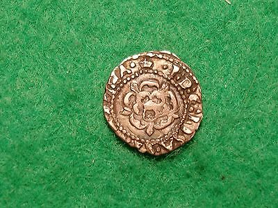 james I silver penny mm coronet 1607-09 with inner circle nice grade FREEPOST