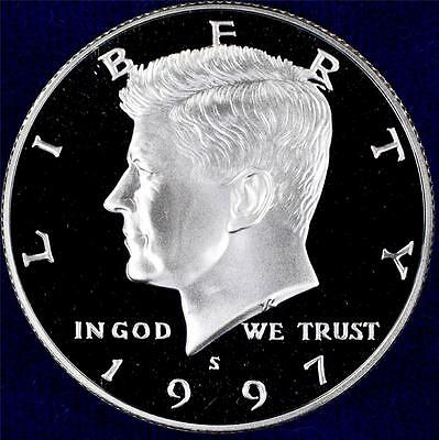 1997-S 90% Silver GEM CAMEO Proof Kennedy Half - From CherrypickerCoins - 11