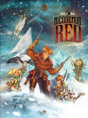 Nicodemus Red, Tome 1 Les dragons d'Hillrude Maba et ANKAMA Didier Crisse Book