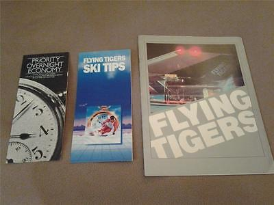 FLYING TIGERS airline memorabilia lot