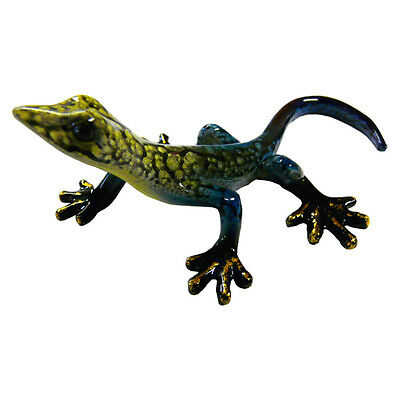 Rainbow Gecko Ornament C