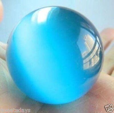 40mm Blue Mexican Opal Sphere, Crystal Ball/Gemstone+stand