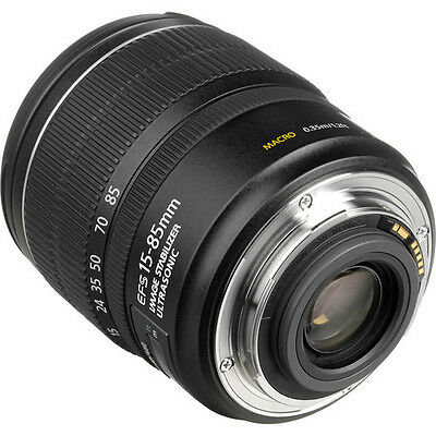 Brand New* Canon Ef-S Is Usm 15-85Mm F3.5-5.6 Ef Is Lens & Free Uv *in Scotland