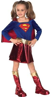 Supergirl Deluxe Girls Costume Size Small