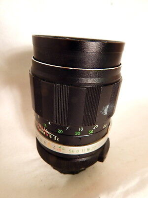 Soligor Tele Auto 135mm F2.8 Camera Lens Fujica 17634935