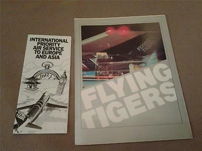 FLYING TIGERS cargo airline memorabilia lot