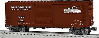 Lionel 6-82623 O West India Fruit Steamship Company PS-1 Boxcar