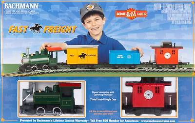 Bachmann 90196 G Scale Fast Freight Train Set