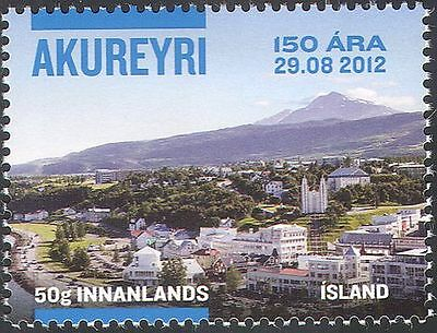 Iceland 2012 Akureyri/Buildings/Architecture/History/Mountains 1v (n42507)