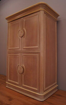 769 !! Vintage Shabby Chic Cabinet/cupboard In French Style !!