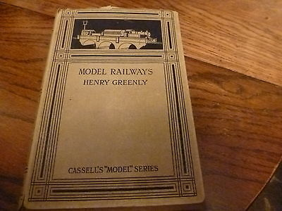 Model Railways By Henry Greenly 1935