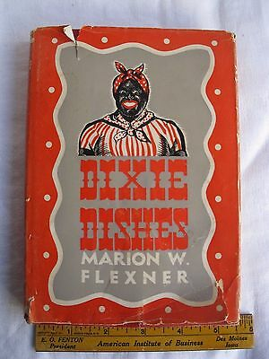 1941 Black Americana Cookbook DIXIE DISHES (Mammy on Cover) SHIPS FREE 2 US!