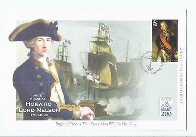 f115  Thematics People / Nelson / 3 x fdcs Tristan da Cunha Unused