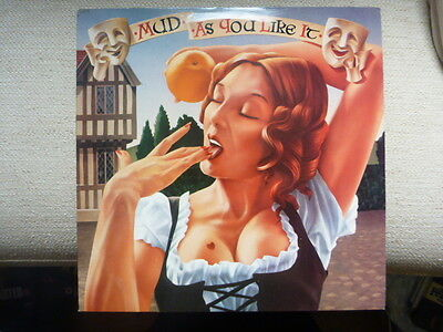 "Mud - As You Like It - 1979 RCA 12"" LP (VG+/EX)"