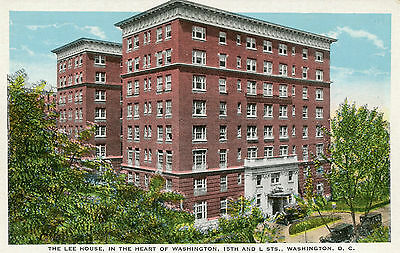 The Lee House In The Heart Of Washington D.c. 15Th And L Streets Postcard
