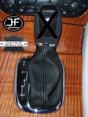 Fits Mercedes C Class W203 Auto Automatic Genuine Leather Gear Gaiter