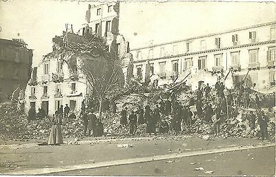 Cartolina 1908 Messina Terremoto Rovine
