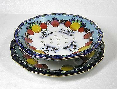 Losol Ware Keeling & Co Ltd -Chandos  drainer / strainer plate on Stand