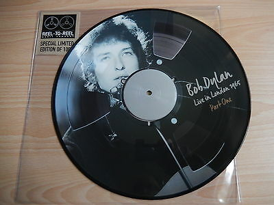 Bob Dylan - Live in London Part 1 1965 (Reel To Reel) Ltd Edition Picture Disc