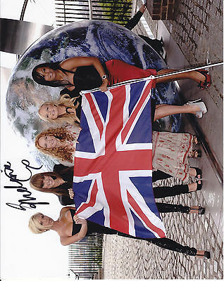 Mel C Spice Girls Signed  10 Inch By 8 Inch Photograph
