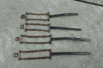Vintage Old School Tire Chains (4)