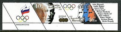 027 - SLOVENIA 1992 - Olympic Games - Barcelona - Sport - MNH Set