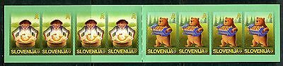 504 - SLOVENIA 2005 - Characters from Children`s Picture Books - MNH Booklet