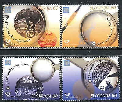 543 - SLOVENIA 2005 - 50th Anniversary of Europa Stamps - MNH Set