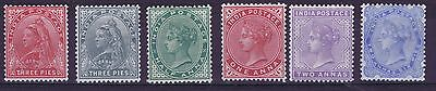 D2660 INDIA 1899/1900 definitive issue QV MH